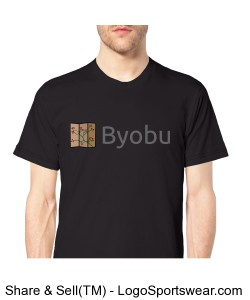 Byobu T-Shirt (black) Design Zoom